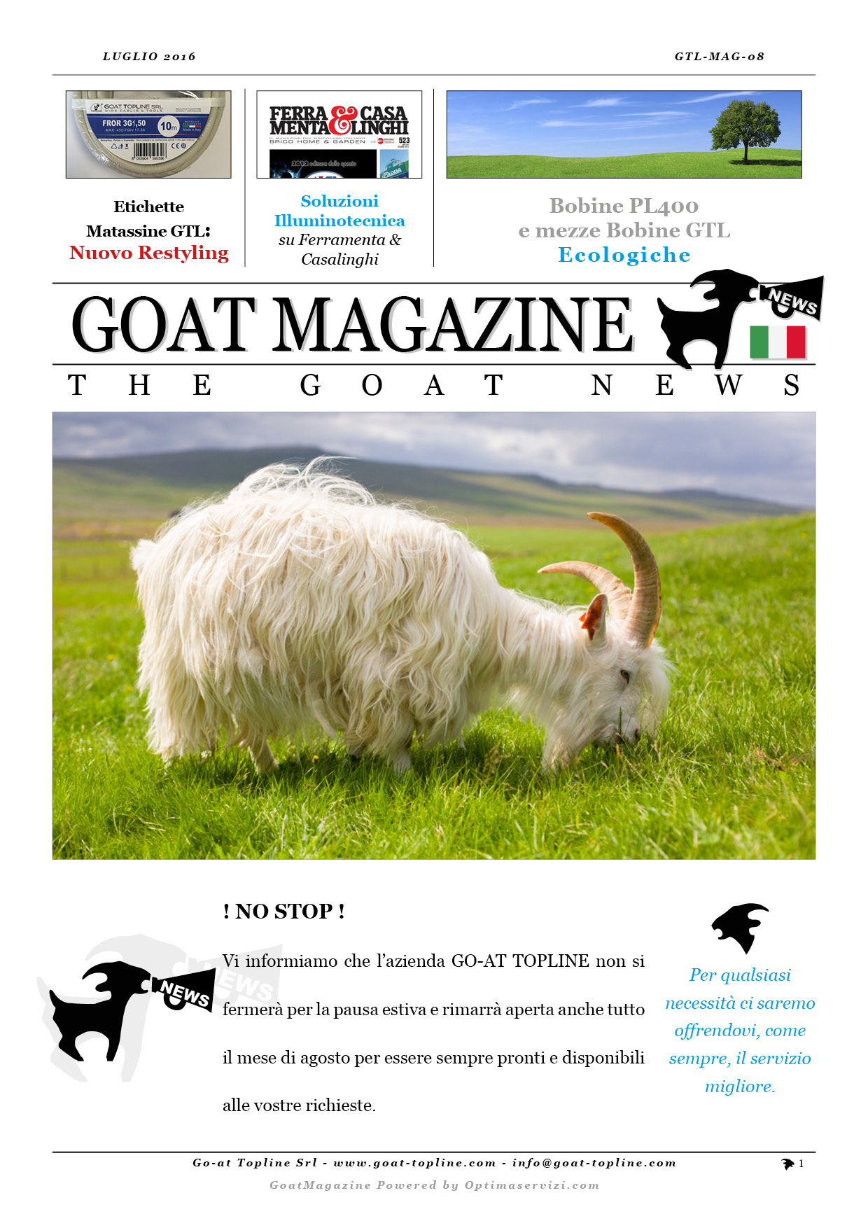 GTL-MAG08 -PUBBLICO- Luglio 2016 - ITA