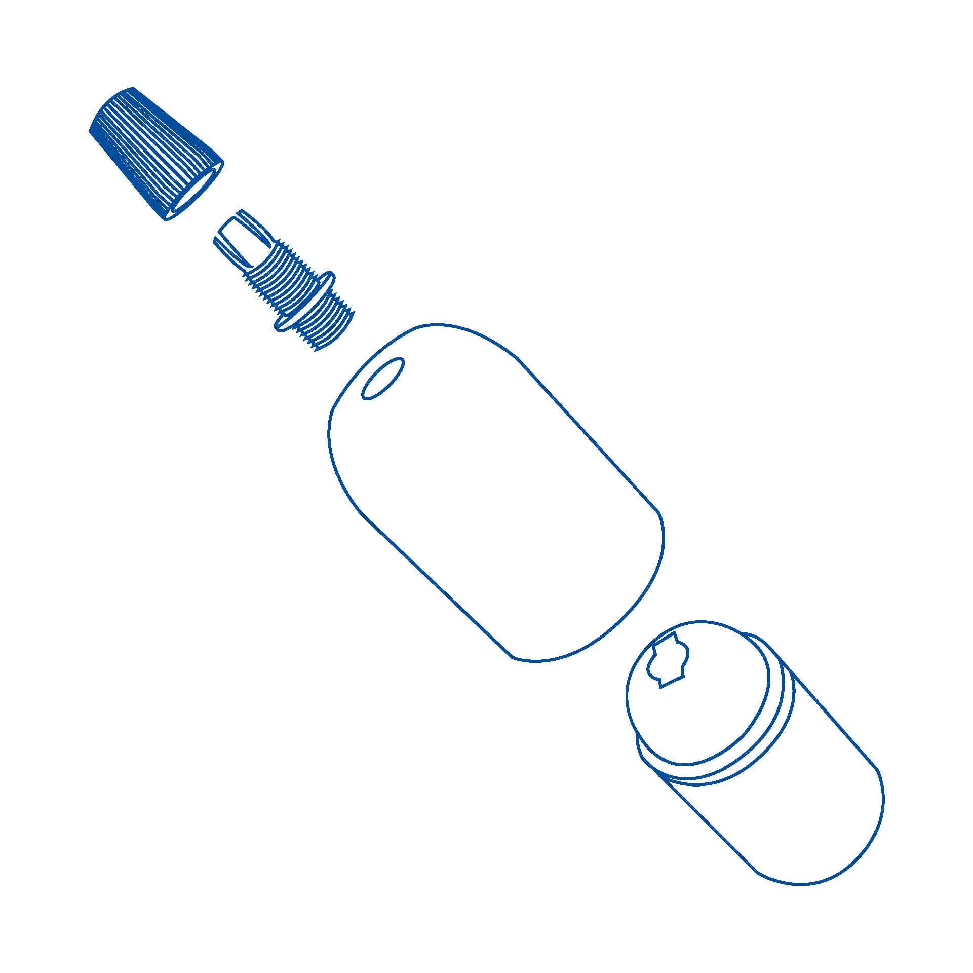 disegni esplosi _bicchierino cilindrico