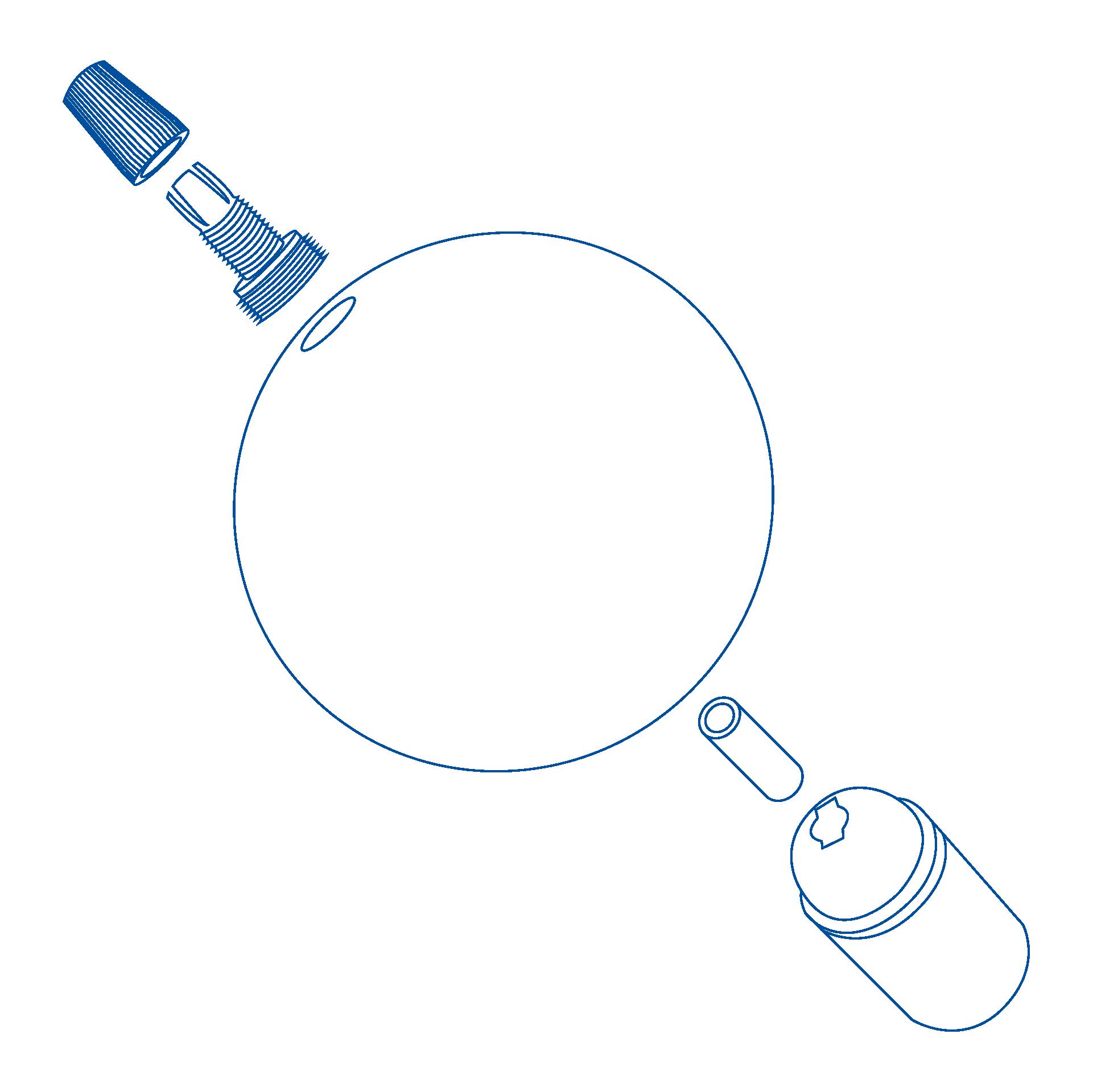 disegni esplosi _bicchierino sferico